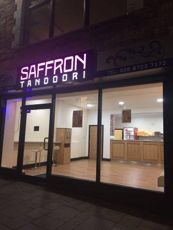 Dungannon, UK: Saffron