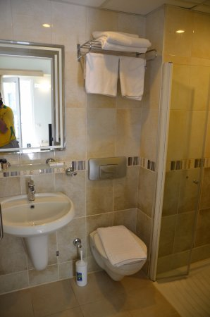 Parkim Ayaz Otel: Just an ordinary bathroom