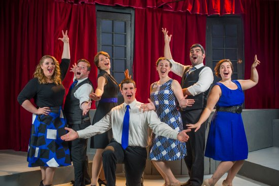 Wakefield, RI: Bravo! An Improvised Musical, Oct - Nov 2017, Photo by Seth Jacobson Photography