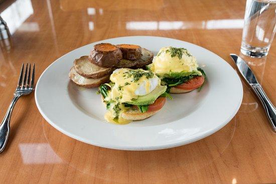 Бивертон, Орегон: Eggs Benedict