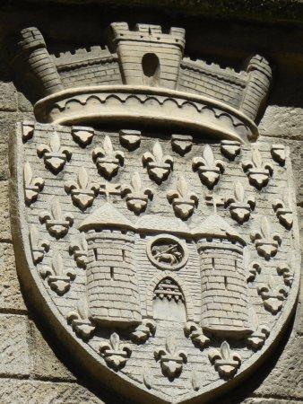blason de la ville picture of chateau et remparts de la cite de carcassonne carcassonne. Black Bedroom Furniture Sets. Home Design Ideas