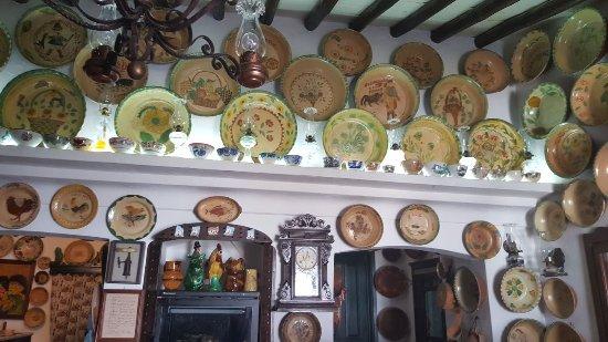 Portalegre, Portugal: Decoração do Restaurante
