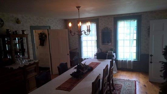 Arlington, VT: Breakfast room