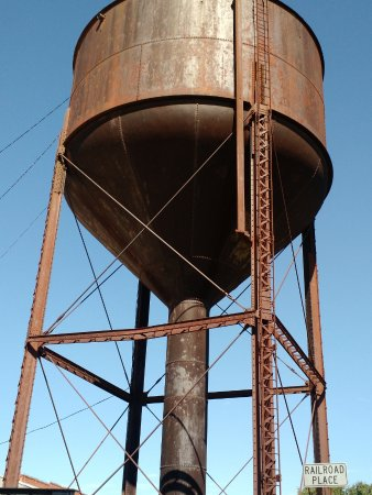 Bristow, Οκλαχόμα: Railroad Watertower