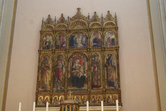 Cattedrale di Sant'Emidio : La pala