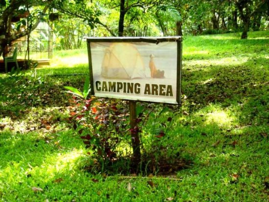 Capiz Province, Filippinerna: Camping area