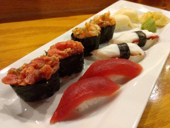 Peachtree City, GA: Tuna, Octopus, Spicy Scallop and Spicy Tuna