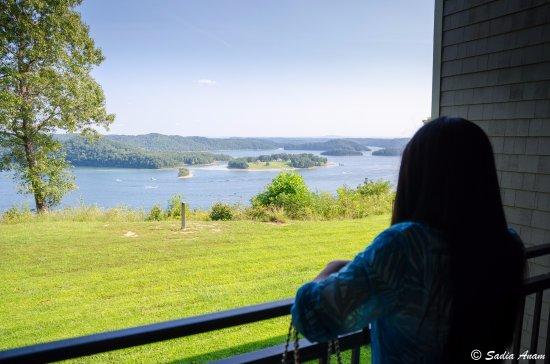 Kentucky: From lodge balcony