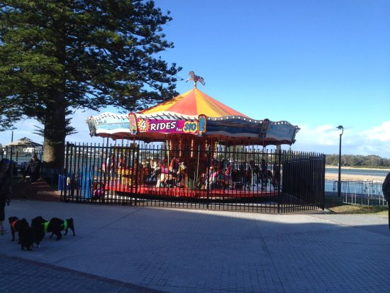 The Entrance, Australia: Carousel