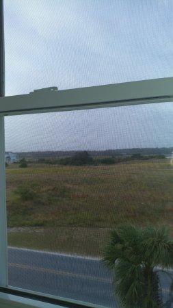 Ocean Isle Inn : View of island from Room