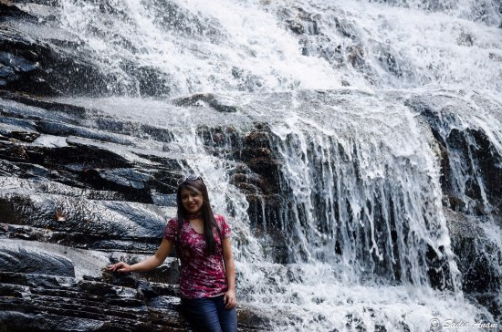 Spencer, TN: cane creek cascade falls...