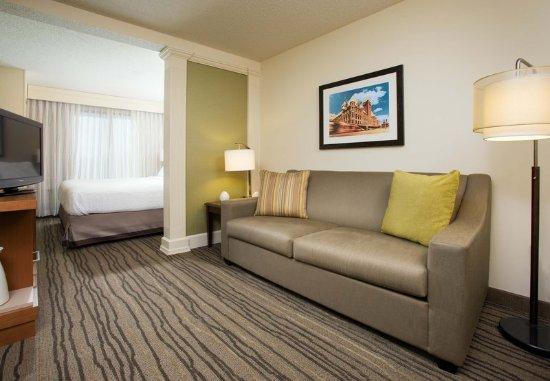 Saint Louis Park, มินนิโซตา: King Suite Living Area