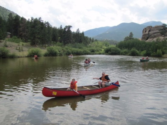 Allenspark, CO: Activities may be available - Canoeing