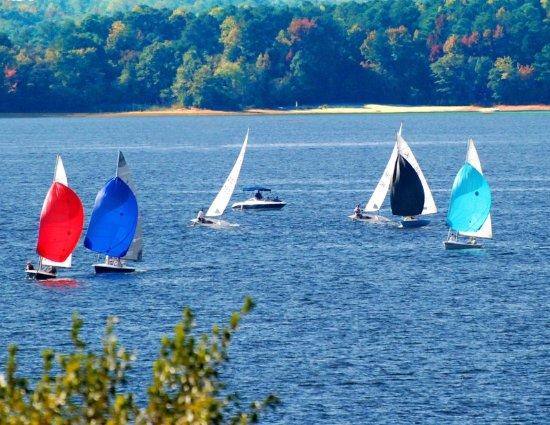 Anderson, Carolina Selatan: Regatta on Lake Hartwell