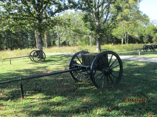 Murfreesboro, TN: Cannons and cannon ball boxes