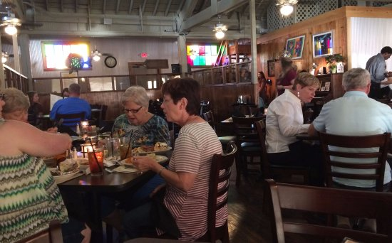Monroe, LA: It is a converted warehouse and outfitted for nice dining
