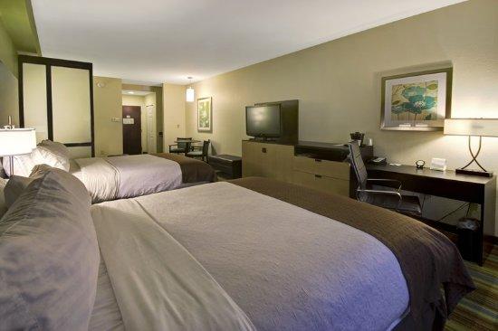คริสเตียนเบิร์ก, เวอร์จิเนีย: Queen Bed Guest Room