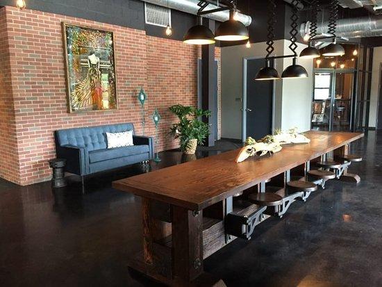 Nyack, NY: Time Lobby