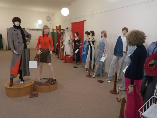 Benalla Museum: 展示の様子