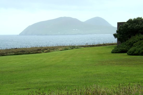 The Blasket Centre and Great Blasket Island