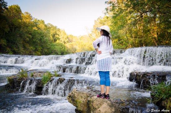 Burgess Falls State Park: little falls..