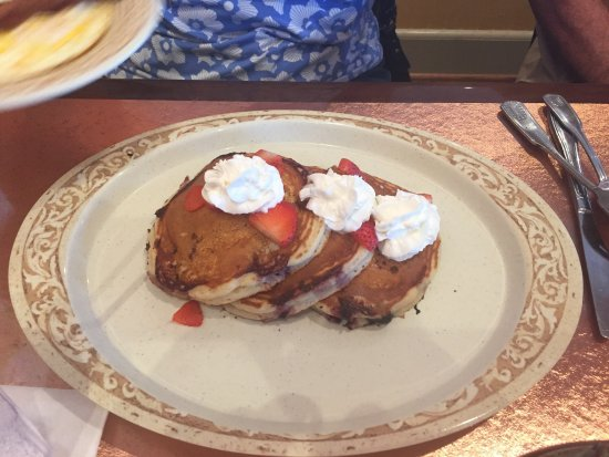 The Colony, TX: Blueberry pancakes