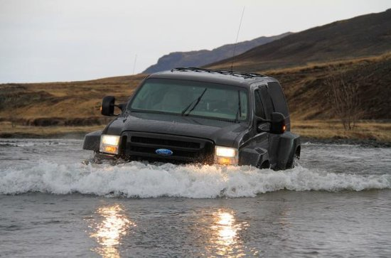 Privé Thorsmork Super Jeep Tour