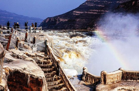 Tour privado: One Day Hukou Waterfall...