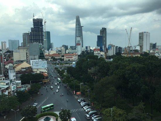 New World Saigon Hotel: the view of hectic saigon