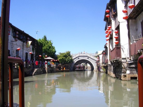 Kunshan, Kina: What a picturesque area!