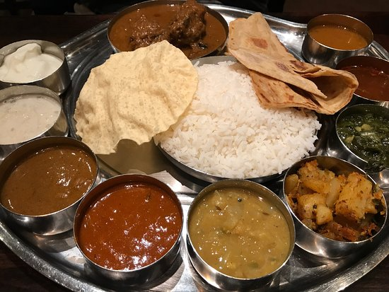 Anjappar chettinad indian restaurant bellevue for Anjappar chettinad south indian cuisine