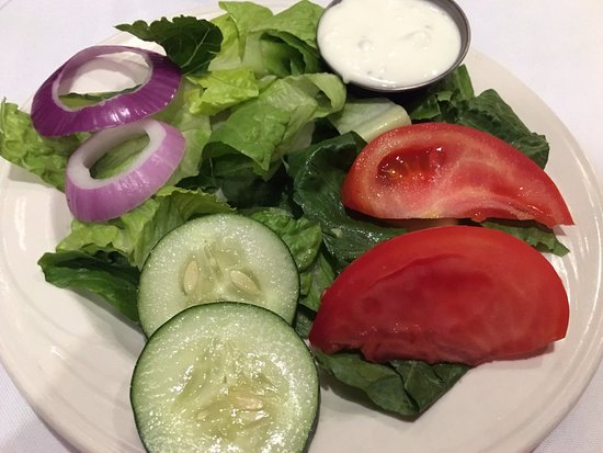 Brother Shuckers: Side salad with bleu cheese ($3 if added to entree)