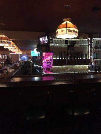 Palmetto, فلوريدا: Clam House Bar Area