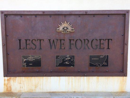 Horsham, Australia: Lest We Forget