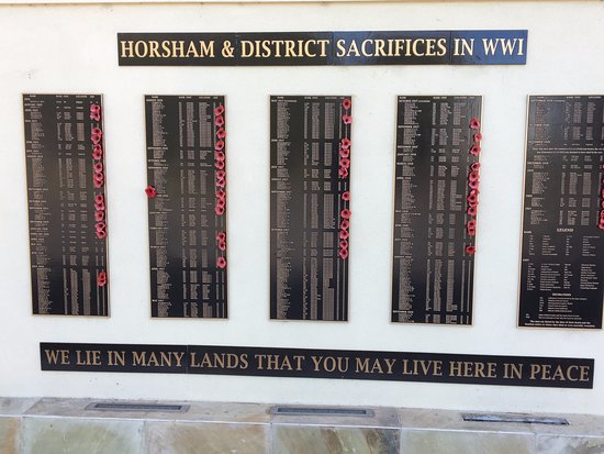 Horsham, Australia: War Memorial sacrifices plaque