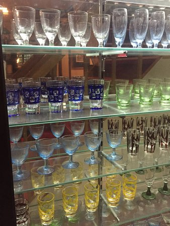 Oyado Yamakyu: ガラス製品