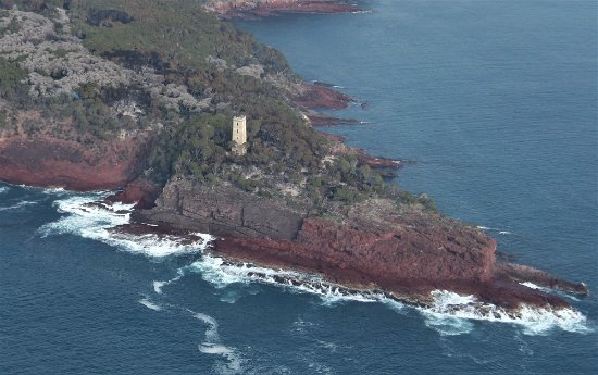 Eden, Australia: Iconic Boyd's Tower - the northern start of the Light to Light Walk