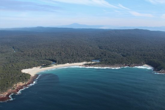Light to Light Camps: Saltwater Creek Beach - our other campsite location