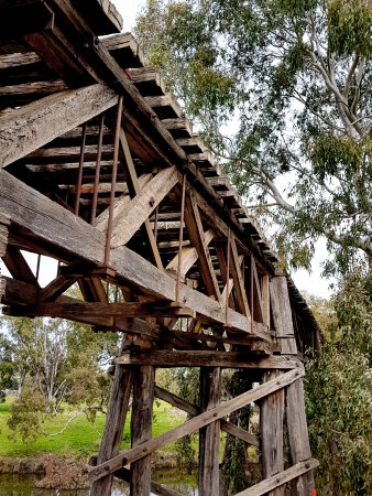 The Prince Alfred Bridge : Gundagai