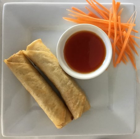 Robe, Австралия: Home Made Spring Rolls