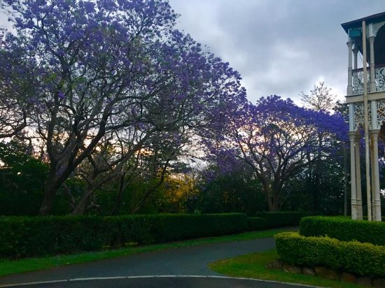 Marburg, Australia: The stunning walk to the entry