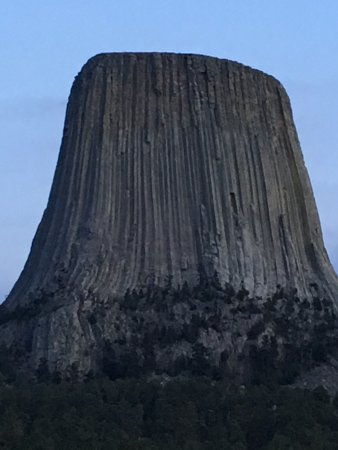 Devils Tower, WY: Nightfall Devil's Tower NP