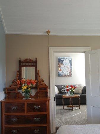 Naseby, Selandia Baru: Parkers room and lounge.