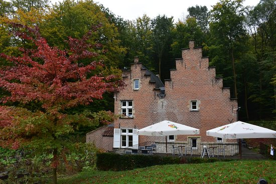 Visit it in Autumn and enjoy the beautiful colours of the Tervuren Park