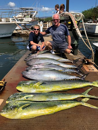 Koloa, HI: Catch of the Day