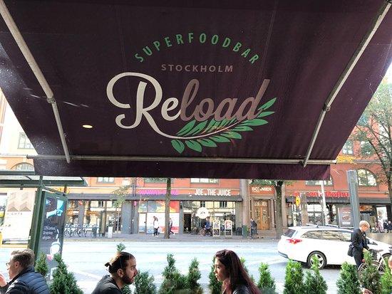 Picture of reload superfood bar stockholm for Food bar grand hotel stockholm
