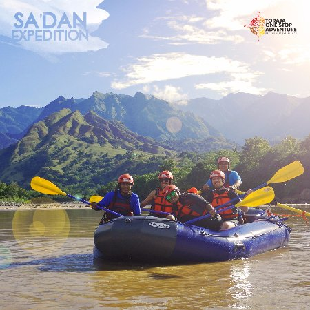 Рантепао, Индонезия: Sa'dan River Expedition