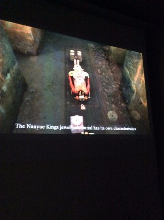 Museum of the Western Han Dynasty Mausoleum of the Nanyue King: video interpretation of the structure of the tomb