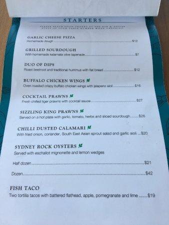 Haberfield, Australia: lunch starters