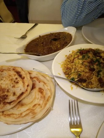 Cafe Malabar: Lamb Malabar, Chicken Biryani and Malabar Porotta